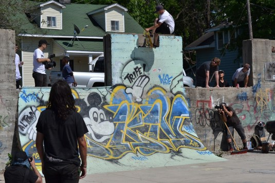 Raney Beres Frontside Tail Tap