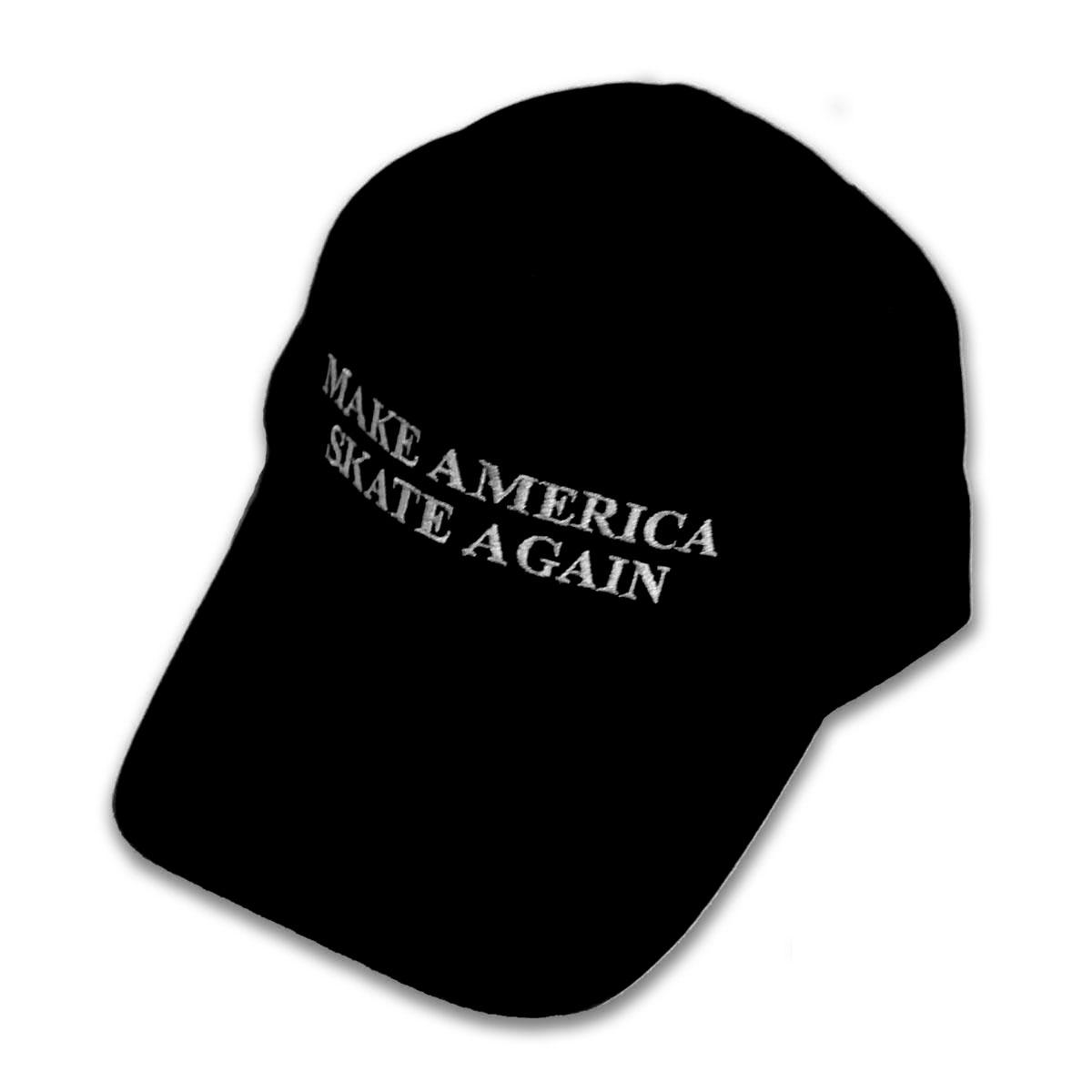 Make America Skate Again Hat Black