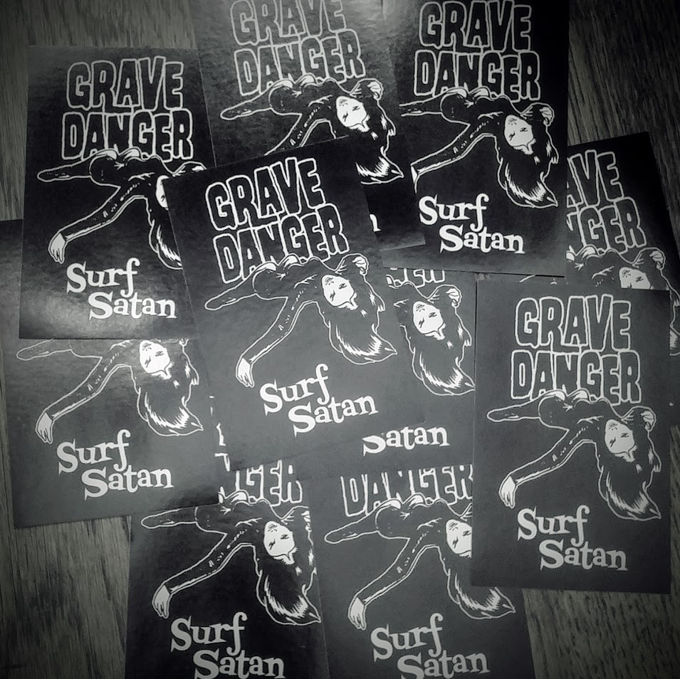 Kevin Daly's Grave Danger Sticker 10-Pack