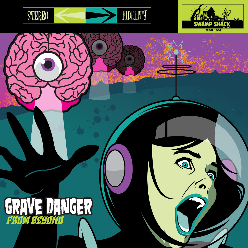 Kevin Daly's Grave Danger 'From Beyond' 7″ Vinyl