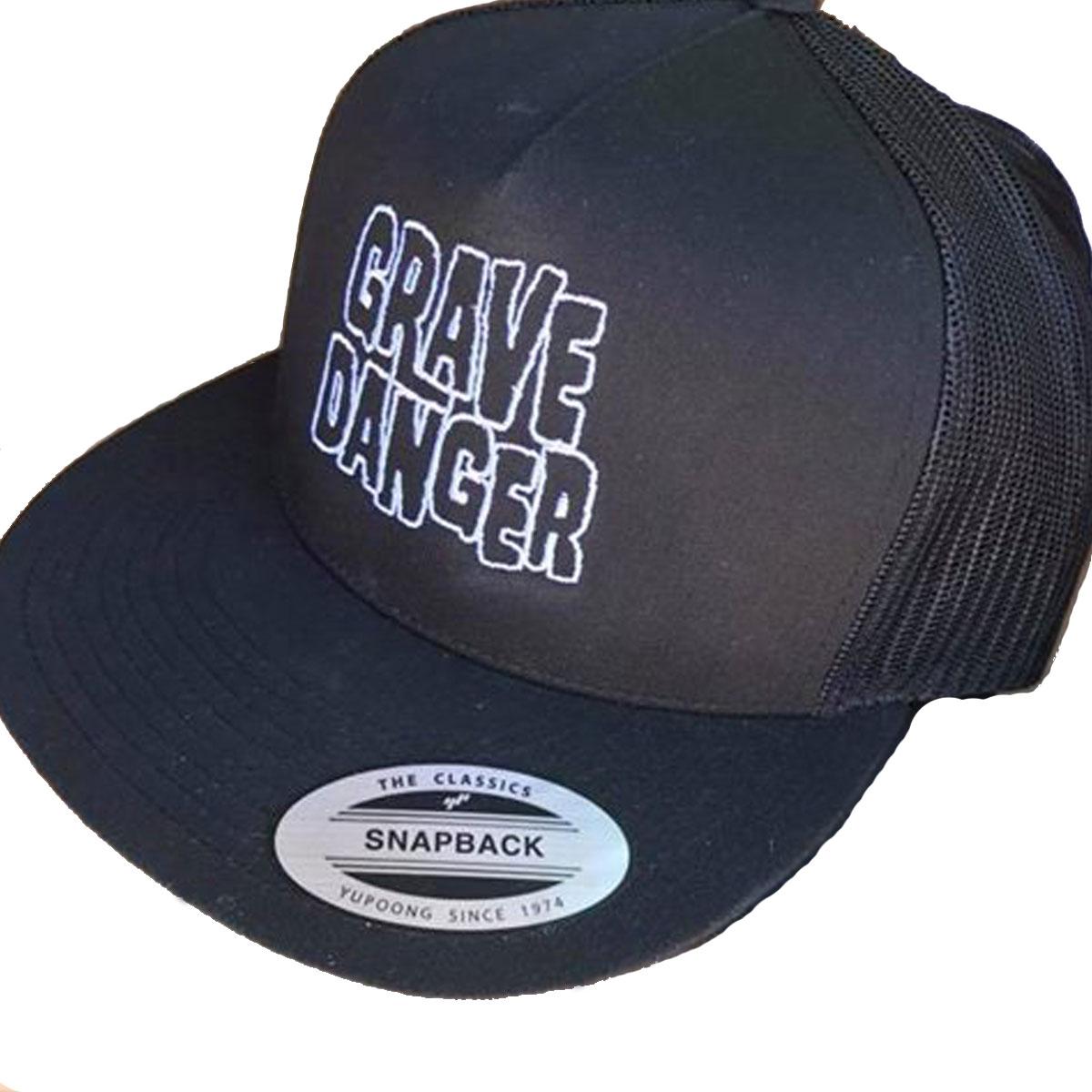 Kevin Daly's Grave Danger Trucker Hat Black/Black