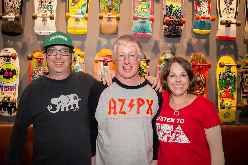 Rob, Ping! & Tara @ Skatercon