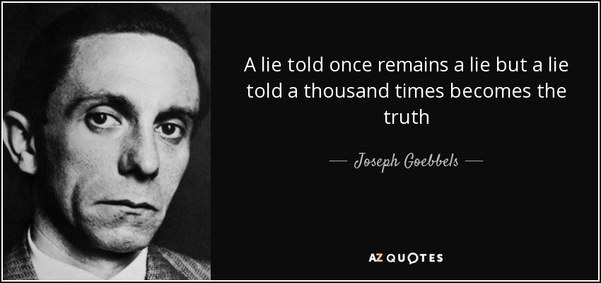 Image result for goebbels propaganda