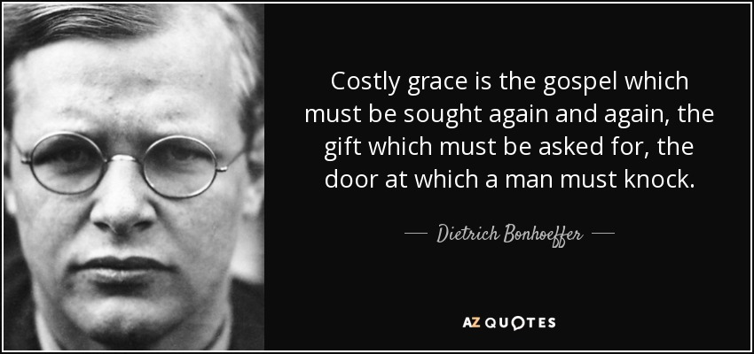 Image result for Costly Grace