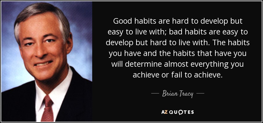 Image result for good and bad habits quotes