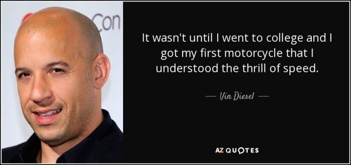 Image result for Vin Diesel quotes