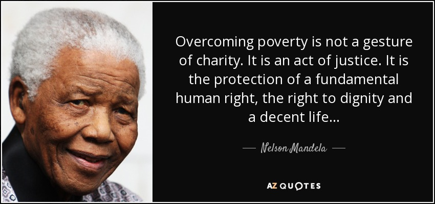Image result for charity and dignity