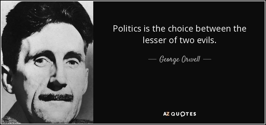Image result for evil politicians orwell