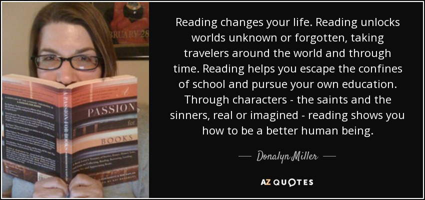 Image result for donalyn miller quotes