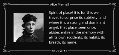 TOP 8 SPIRIT OF PLACE QUOTES | A-Z Quotes