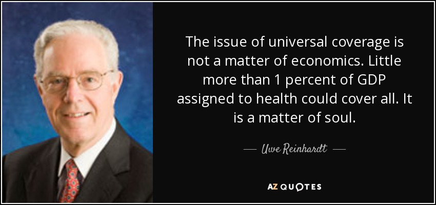 Image result for uwe reinhardt
