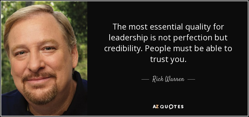 Image result for credibility quotes
