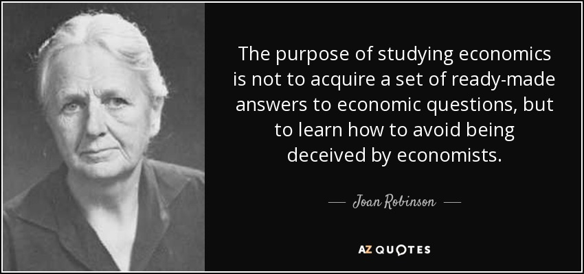 Image result for Quotes on Economists