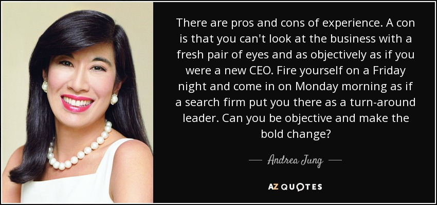 Andrea Jung Quotes, Business, Leadership