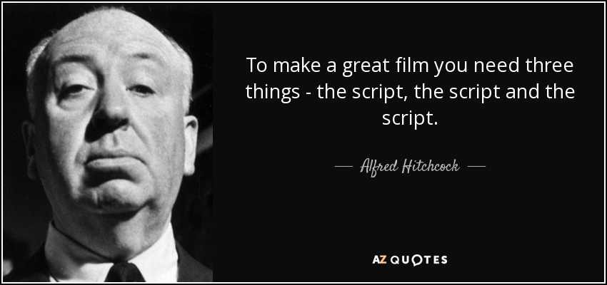 Image result for Great script