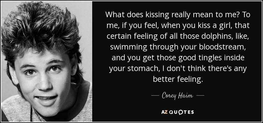 Quotes About Kissing Girl