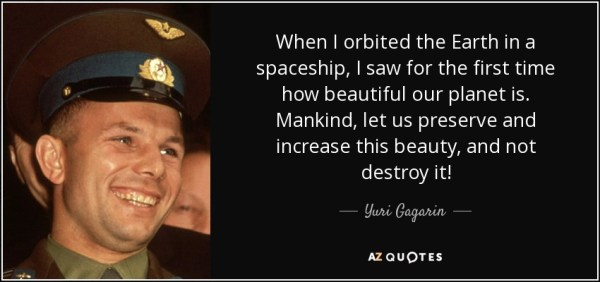 TOP 16 QUOTES BY YURI GAGARIN | A-Z Quotes