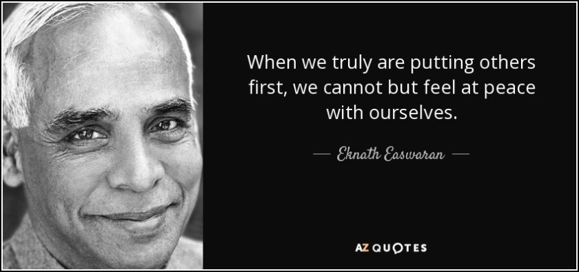 quotes about putting others first