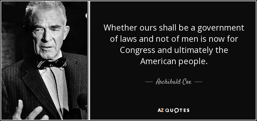 Image result for photos of Archibald Cox