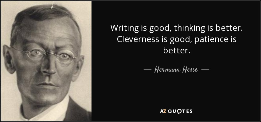 Image result for writing is good thinking is better