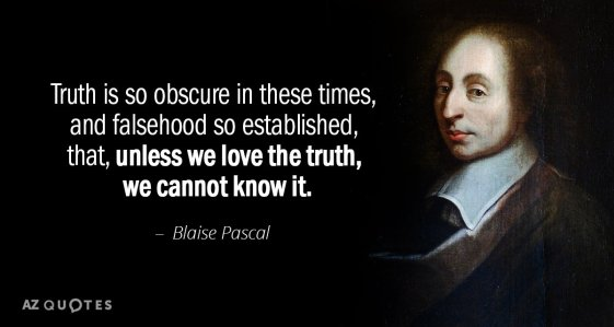 TOP 25 QUOTES BY BLAISE PASCAL (of 727) | A-Z Quotes