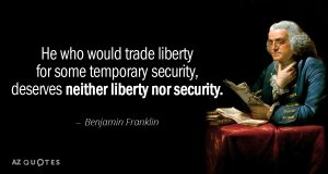TOP 25 BENJAMIN FRANKLIN QUOTES ON LIBERTY | A-Z Quotes