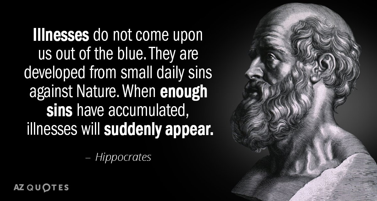 TOP 25 QUOTES BY HIPPOCRATES Of 158 A Z Quotes