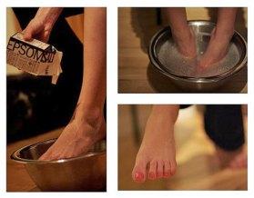Epsom Salt Foot Soak