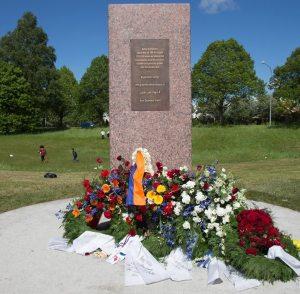 أول نصب تذكاري في السويد يخلّد الإبادة الأرمنية الجماعية من قبل الامبراطورية العثمانية عام ١٩١٥
