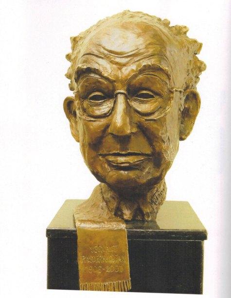 Երուանդ-Պաստրմաճեանի-Դիմաքանդակը,-49-x-38-x-43սմ,-պրոնզ