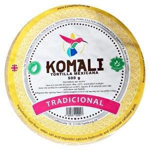 Tortilla maïs 15cm/500gr