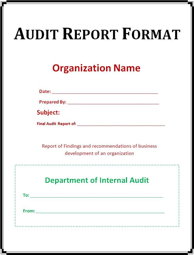 Auditing practice