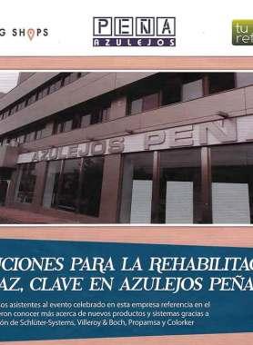 Soluciones para la rehabilitación eficaz, clave en Azulejos Peña