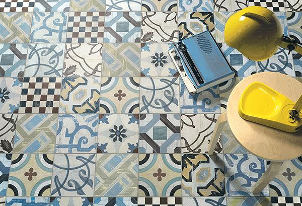 azulejos hidraulico decorativo