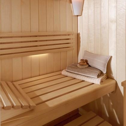 Sauna en el hogar