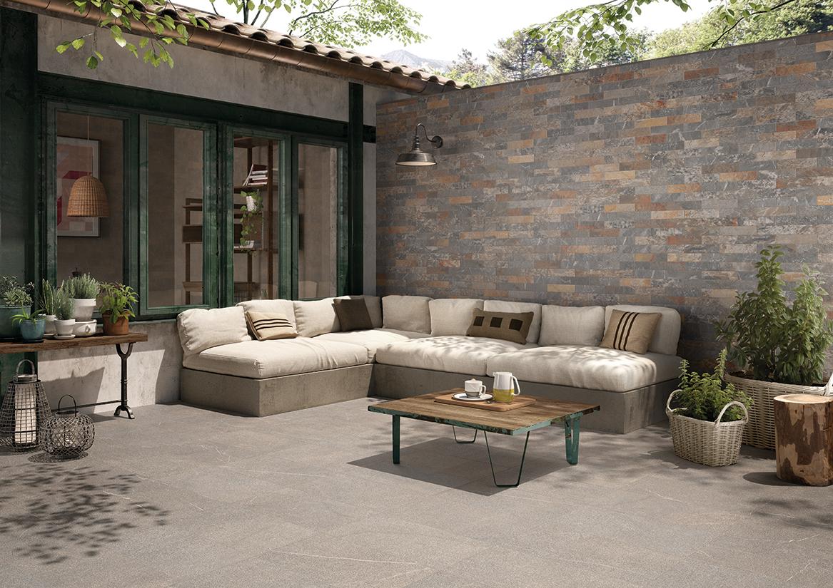 Pavimento para exteriores azulejos pe a for Zocalos imitacion piedra exteriores