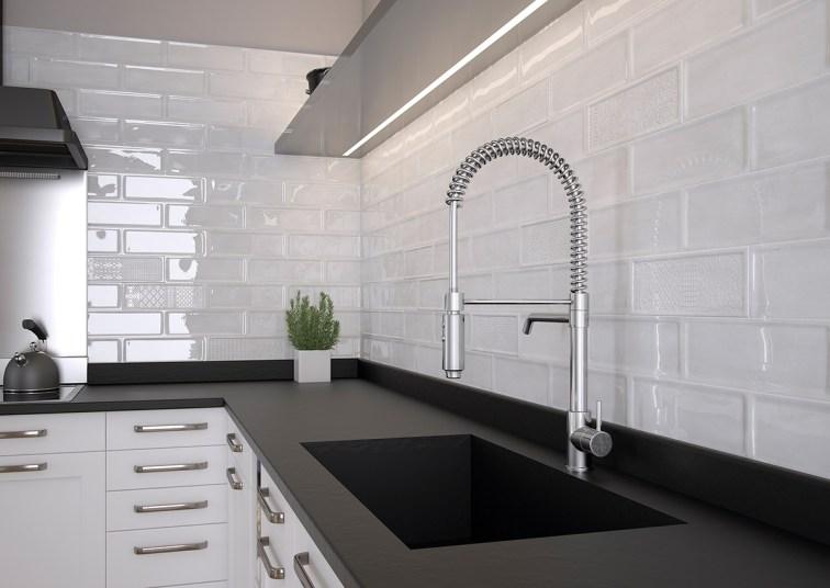 5 revestimientos cer micos para tu cocina azulejos pe a for Baldosas pared cocina