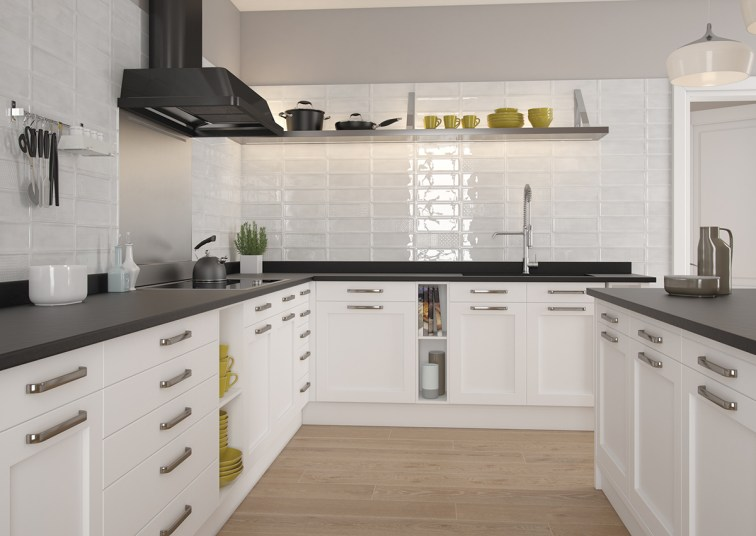 5 revestimientos cer micos para tu cocina azulejos pe a for Baldosas para cocinas modernas