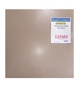 azulejo natural ocre 80x80