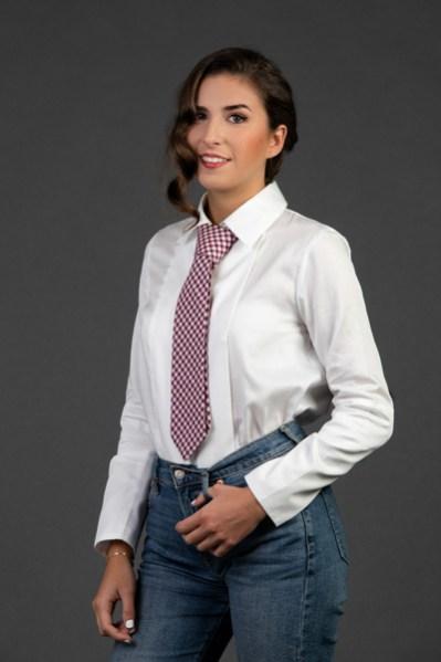Camisa María 2 - Corbata Maruja 1 - AW2021 Las SinSombrero - Azul Marino Casi Negro - Moda sostenible