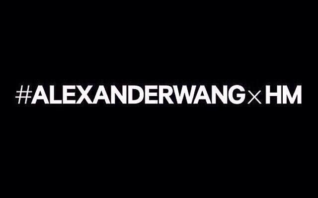 Alexander Wang X H&M: La colección más esperada.