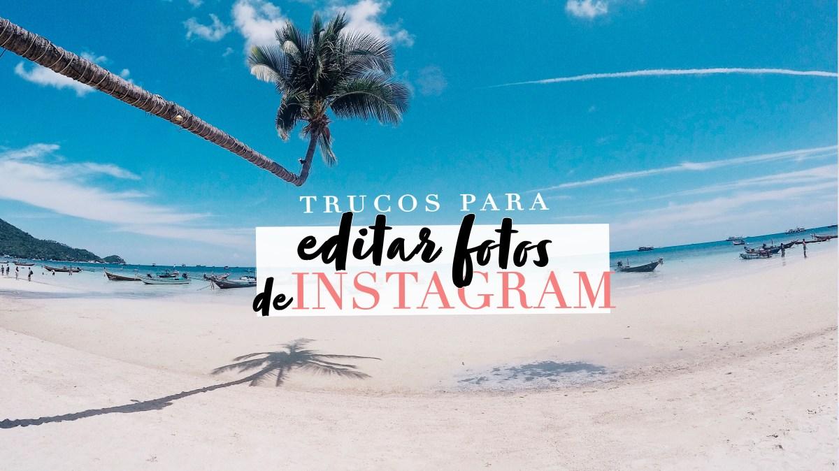 Cómo edito mis fotos de Instagram + ebook gratuito!