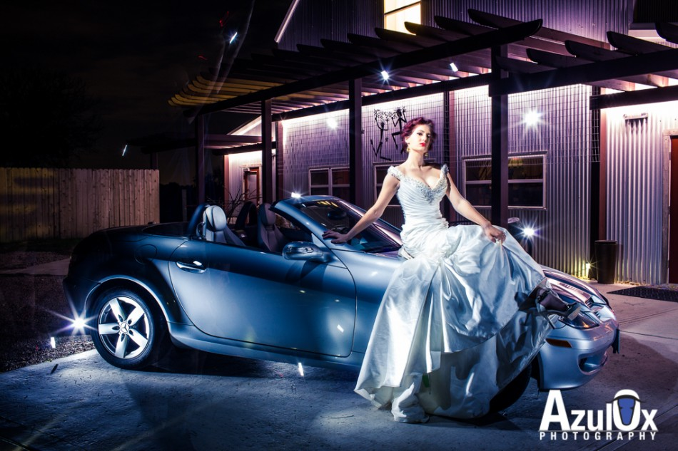 Long Exposure, Mercedes, Gorgeous Bride, yeah what else do you need?