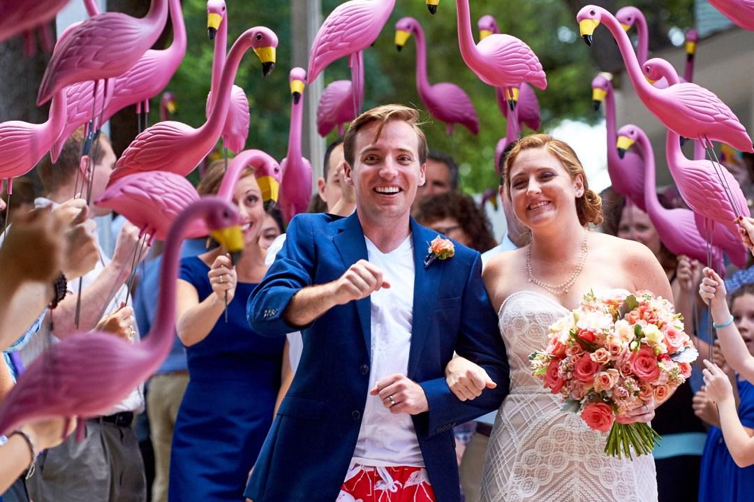 A Flamingo Exit.