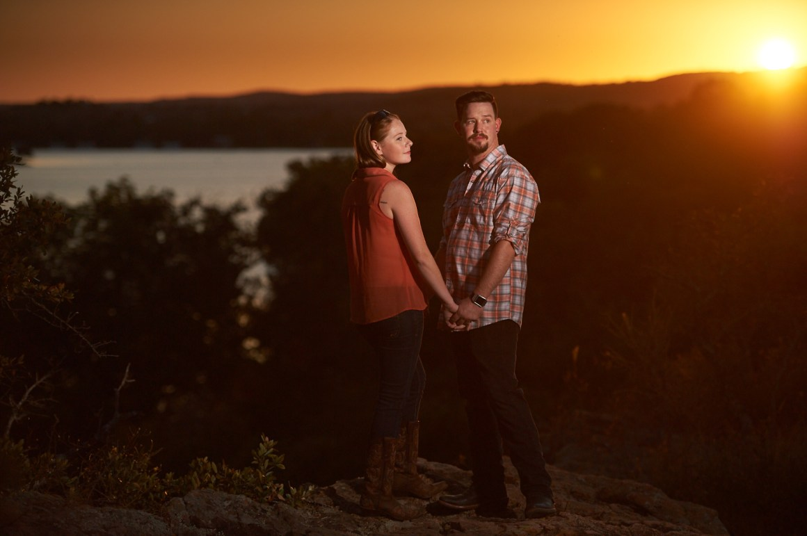 Joseph and Sara - Texas Hill Country Engagement-0011