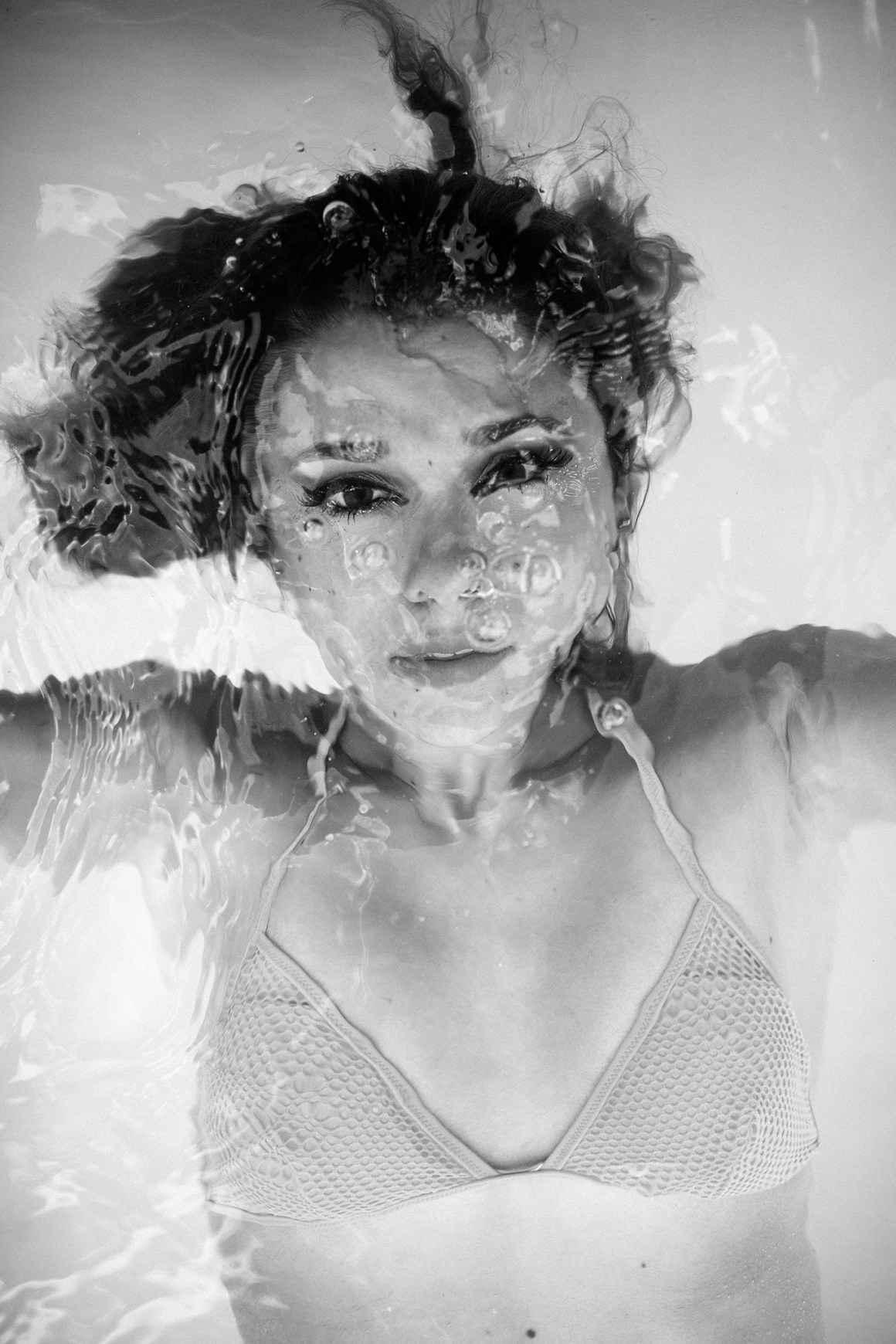 French Water We usually go big every year with mermaid portraits and this was from one of those shoots but it was a quieter moment with the B-Camera to find an enduring portrait