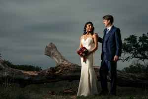 Wedding Portrait Cross Light: Anytime Light