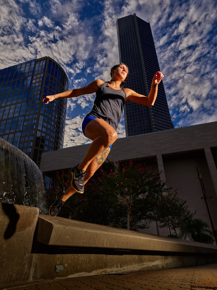 Austin Sports Action Photography - Fitness Photography - Phase One IQ3 100