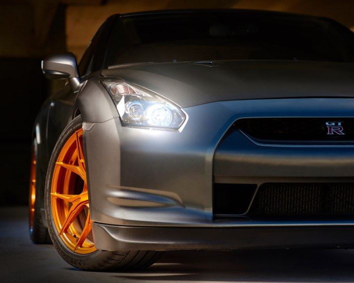 Nissa GTR Headlight Detail - Automotive Photorgaphy - Ansel Adams, Equipment and Creativity