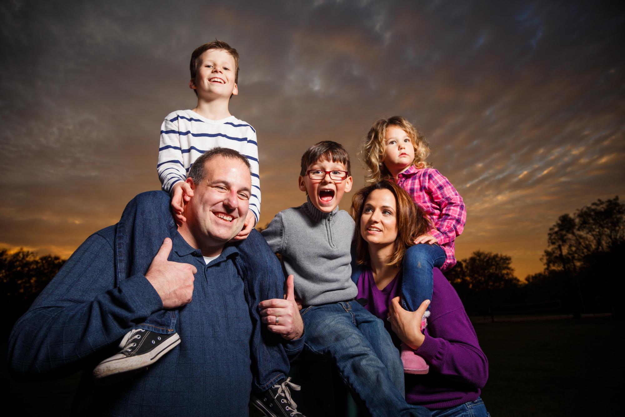 Family Photos - Pfluger Park - Sunset - 02